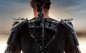 Picture fiction, Matt Damon, Elysium, Elysium