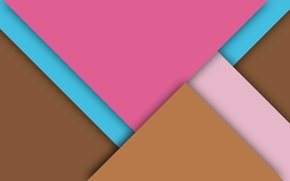 Picture line, pink, wallpaper, geometry, brown, material