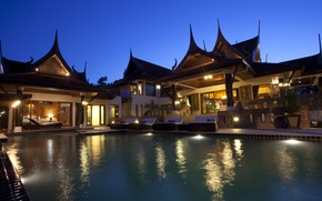Picture Villa, pool, Thailand