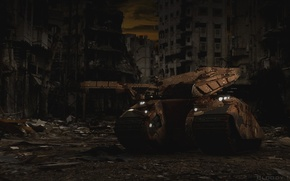 Picture tank, ruins, 2.0, Tanki Online, Tanki online