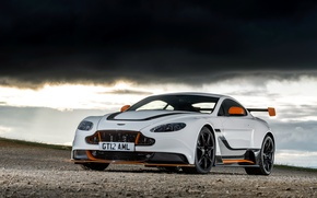 Picture Aston Martin, Vantage, Sky, Black, V12, GT12
