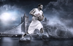 Picture London, Sport, Basketball, Olympic games, Deron Williams, Deron Williams