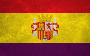 Picture Wallpaper, Flag, Spain, Republic, The Flag Of Spain
