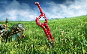 Picture sword, Nintendo, roleplay, Xenoblade, Chronicles