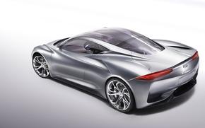 Picture concept, supercar, infiniti, electric, emerg e