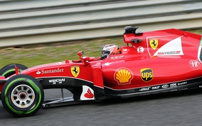 Picture Ferrari, Kimi, Raikkonen also, Formula 1, SF15T
