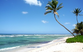 Picture sea, beach, bounty, Caribbean, StCroix