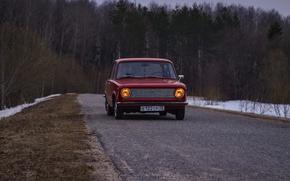 Picture retro, classic, VAZ, 2101, Resto