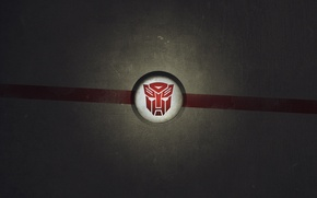 Picture red, logo, transformers