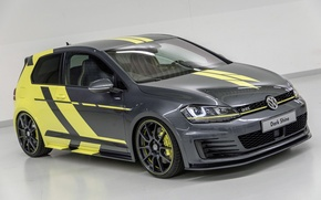 Picture Volkswagen, Dark, Golf, GTI, Shine