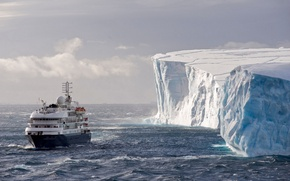 Picture ice, iceberg, liner, Antarctica, Antarctica, Corinthian, Weddell Sea, The southern ocean, The Weddell Sea, Southern ...