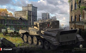 Picture world of tanks, medium tank, world of tanks, Cromwell, Britain.