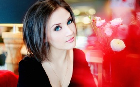 Picture Girl, Model, Smile, Photo, View, Lips, Russian, Hair, Nadia, Photoshoot
