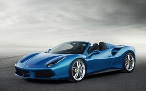 Picture car, Spider, Ferrari 488