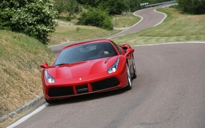Picture Ferrari, GTB, 488