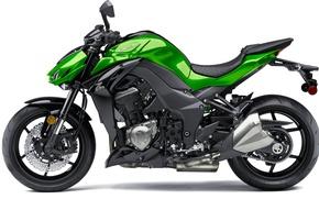 Picture Motorcycle, white background, 2016, Kawasaki Z1000