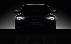 Picture darkness, audi, lights