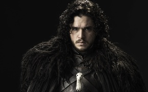 Picture kit Harrington, night watch, sword, Jon snow, jon snow, game of thrones, game of thrones