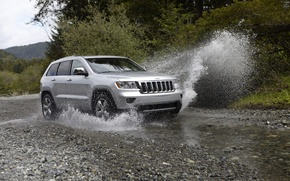 Wallpaper machine, squirt, jeep, auto, jeep 2011, HD Quality