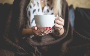 Picture mug, Cup, manicure