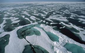 Wallpaper sea, Ice