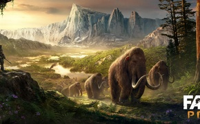 Picture Far Cry, Ubisoft, Primal, Mammoths, Ancient