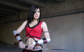 Picture Girl, Katana, Cosplay
