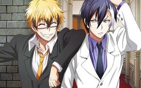 Picture anime, vampire, guys, Eva, servant, Servamp, Servant vampire