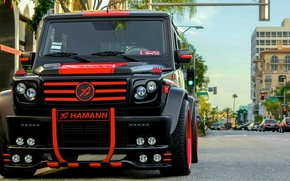 Picture hamann, mercedes benz, tuning, suv, g-class