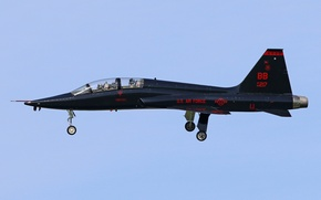 Picture the sky, the plane, T-38A