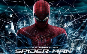 Picture city, web, the amazing spider-man, the amazing spider man