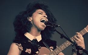 Wallpaper music, guitar, musician, singer
