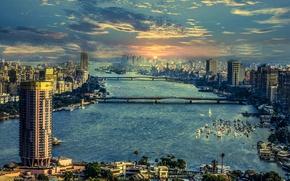 Picture river, Egypt, Neil, Cairo