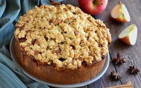 Picture pie, cakes, Apple