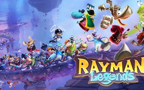 Picture arcade, 2013, rayman legends