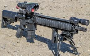 Picture weapons, optics, fry, Daniel Defense, MK18