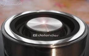 Picture Macro, Blur, Sound system, Defender Atom MonoDrive