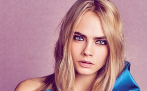 Picture look, face, model, beauty, actress, Cara Delevingne