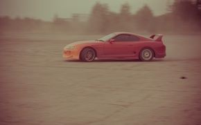 Picture auto, dust, supra, drift