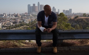Wallpaper Vin Diesel, Fast and furious 7, Dominic Toretto, VIN Diesel, Furious 7