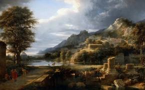 Picture picture, painting, painting, artist Pierre de Valenciennes