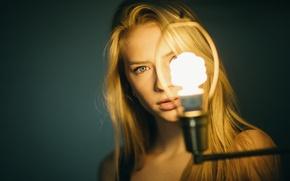 Wallpaper lamp, lighting, sponge, Mila, Jesse Duke