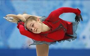 Picture rotation, figure skating, Russia, RUSSIA, Sochi 2014, The XXII Winter Olympic Games, Sochi 2014, Yulia …