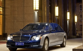 Picture Maybach, limousine, Executive