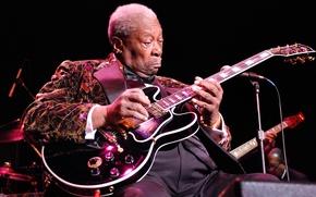 Picture music, jazz, guitarist, Blues, B. B. King, B.B. King
