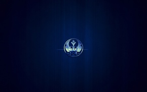 Wallpaper star wars, logo, Alliance Starbird