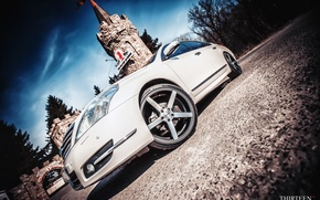 Picture tower, photographer, optics, Nissan, drives, photography, photographer, Vossen, Thirteen