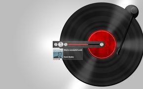 Picture Vinyl, Player, Frank Sinatra