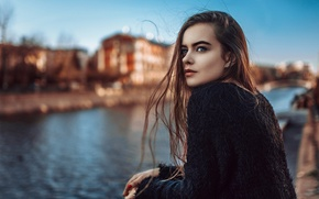 Picture the city, hair, portrait, Russia, George Chernyadev, Moscow Venice