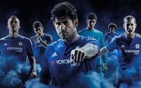 Picture Yokohama, Courteous, Chelsea, Willian, Terry, Oscar, Chelsea, Hazard, Diego Costa